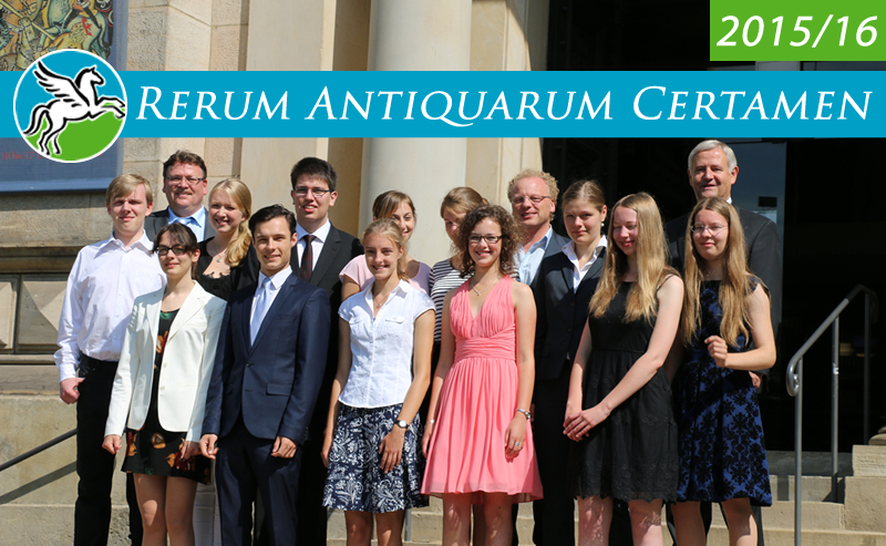 Rerum Antiquarum Certamen 2015-16